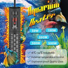 50-500W Aquarium Regelheizer Wasser Heizung Aqua Heizstab Heizer Aquariumheizer