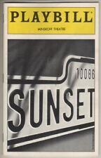 "Elaine Paige  ""Sunset Boulevard""  Playbill  1997   Alice Ripley, George Hearn"