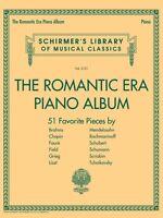 The Romantic Era Piano Album Sheet Music Schirmer's Library of Musical 050600421