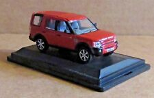 OXFORD DIECAST LAND ROVER DISCOVERY 3 RIMINI RED METALLIC 1:76 SCALE MODEL CAR