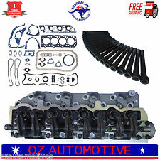 MITSUBISHI DELICA PAJERO TRITON 4D56T 8v COMPLETE ASSEMBLED CYLINDER HEAD PACK