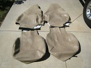 """2007 Ford Expedition Front Seat Covers - """"I Can't Believe It's Not Leather"""""""
