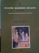 Aida - Teatro Massimo Bellini Catania - Stagione lirica 1978-79- P