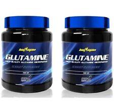 PACK 2 BOTES DE GLUTAMINE 500 GR (TOTAL 1 KG) - ALTO GRADO FARMACEUTICO / BIGMAN