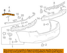 Chevrolet GM OEM 14-18 Impala Rear Bumper-Outer Bracket Left 23145891