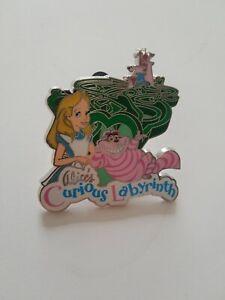 Disneyland Paris Alice's Curious Labyrinth Pin Badge