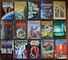 Lot of 15 Science Fiction HC books Avatar/ Leiber/ Star Wars/ Jordan/