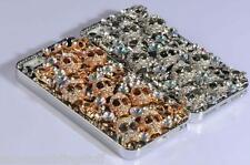 NEW BLING DIAMANTE SKULL CASE COVER FOR IPHONE SAMSUNG SONY HTC BLACKBERRY UK