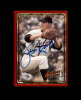 Jim Kaat Hand Signed 1993 Action Packed Minnesota Twins Autograph