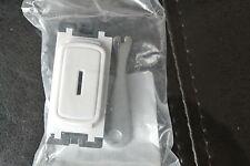 LEGRAND Synergy 7354 23 Griglia Modulo 20ax Dp Switch con Chiave, In Bianco