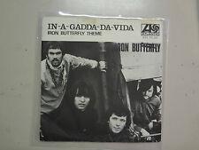"IRON BUTTERFLY:In-A-Gadda-Da-Vida 2:52-Iron ButterflyTheme-Sweden 7""Atlantic PSL"