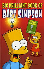 BIG BRILLIANT BOOK OF BART SIMPSON by M. Groening : WH1-R1 : PB525 : NEW (RED)