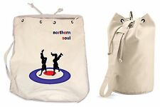 NORTHERN SOUL DANCERS DUFFLE BAG College Rucksack Gym Mod Motown Beach Backpack