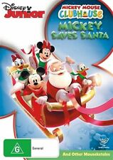 Mickey Mouse Clubhouse: Mickey Saves Santa and Other Mouseketales DVD NEW