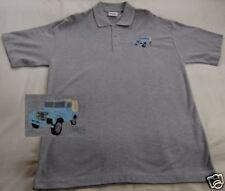Landrover Series I embroider on Polo Shirt