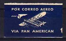USA Poste Aérienne Vignette Label neuf avec charnière