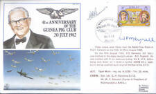AC3b WWII WW2 Guinea Pig Club cover signed Battle of Britain ace BENNIONS DFC