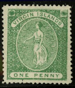 Virgin Islands   1870  Scott # 3  Mint No Gum