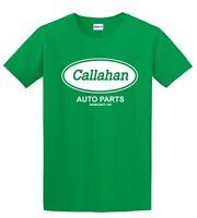 Callahan Auto Parts Tommy Boy Farley Spade Funny Movie Men's Kelly Green T-shirt