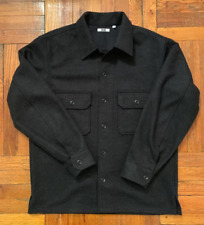 Uniqlo U Black Overshirt - Size Small