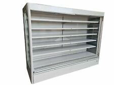 More details for capital commercial refrigerated multideck, upright tiered display fridge (2.6 m)