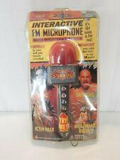 World Championship Wrestling WCW NWO Interactive FM Microphone + Wrestler Voices