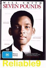 Will Smith - Seven pounds DVD+Special features 118mins - 2009 Made in Australia
