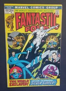 FANTASTIC FOUR #123 • SILVER SURFER, GALACTUS • VERY FINE OR BETTER+++
