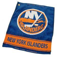 "NHL New York Islanders Woven Golf Towel 16"" x 19"" Course Club Bag Jacquard"