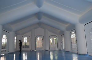 5,000 sqft Inflatable Tent Advertising Commercial Event Wedding Bar We Finance