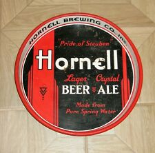 """* Hornell Beer Ale """"Pride Of Steuben"""" 13"""" Beer Tray Hornell Ny *"""