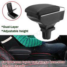 AU 2 Layer Car Armrest Center Console Storage Box For Toyota YARIS Vitz 06-11