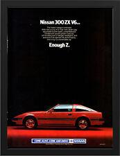 "1984 NISSAN 300ZX V6 Z31 A3 FRAMED PHOTOGRAPHIC PRINT 15.7""x11.8"""