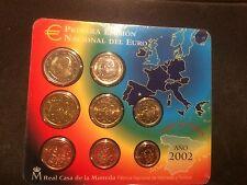 Muntset Spanje 2002 BU