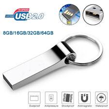 64GB USB 2.0 Flash Drive Memory 32GB 16GB 8GB USB Stick Metal Thumb Pen Drive