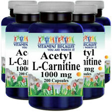 Acetyl L-Carnitine 1000mg 5X200 Caps by Vitamins Because Your Worth it