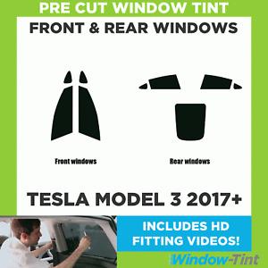 Pre Cut Window Tint - Tesla Model 3 2017+ - Full Kit