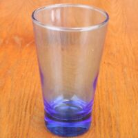 Blue Glass Tumbler Water Glass Cup