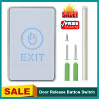 Door Push Release Button Switch Exit Touch Button Door Access Control System Kit
