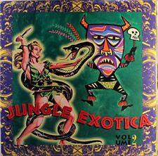 LP VARIOS JUNGLE EXOTICA VOLUME 2 ROCK FUNK SOUL BLUES COMPILACIÓN  VINYL