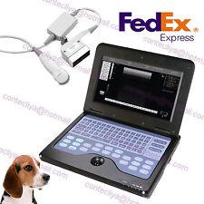 New CE Micro Convex Veterinary Laptop Ultrasound Scanner Machine To Dog/Cat/Pet