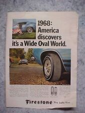 FIRESTONE TIRES WIDE OVAL AD