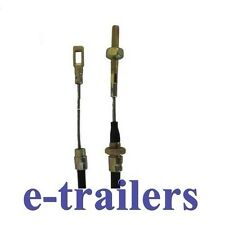 700mm FIXED EYE TRAILER BRAKE STEEL CABLE  FOR AL-KO ALKO SYSTEMS