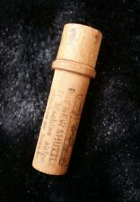 Vintage Wooden Boyer Needle Company Needle Holder and Eight Needles