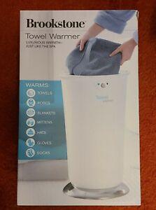 BROOKSTONE XL Towel Warmer Heats Up in 10 Minutes #647156 NEW IN BOX MSRP: $375