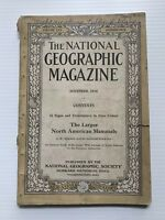 National Geographic Magazine - November 1916 - The Larger North American Mammels