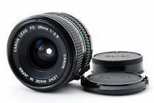 [Top MINT+++] Canon New FD NFD 28mm f2.8 MF Wide Angle Lens from Japan