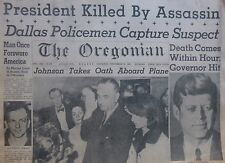 More details for jfk  john f kennedy assassinated johnson  takes oath oswald 1963 november 23 la