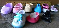 IDEAL N.Y. DOLL BATTAT SINGLE SHOES & SMALLER  LOT OF 9 SHOES