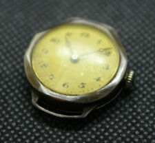 A Vintage Gents Trench Watch, Sterling Silver Case Glasgow, Early 20th Century